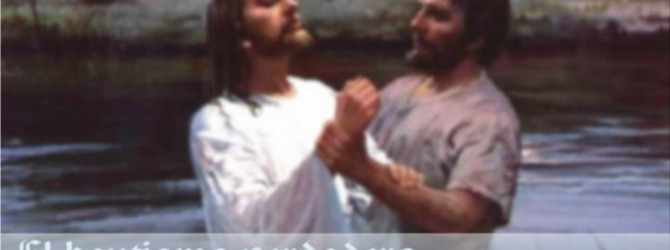 El bautismo verdadero