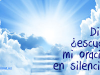 Dios, ¿escucha mi oración en silencio? ¿Sabe lo que le estoy pidiendo?